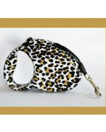 Retractable Leash | Leopard | Retractable leash for dog or cat