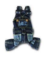 Jeans overalls for Dogs |Jumpsuit for dogs