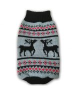 Pet Clothes | Dog Sweater | Original Reindeer Grey