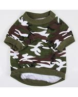 Dog T-Shirt Camo Green Off Road