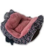 Dog Bed | Cat Bed | Rose Flower Frill