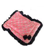Dog Bed | Cat Bed | Polka Dot Pink