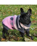 Dog Sweater | Pink & Black