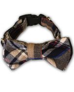 Dog Collar | Dog Bowtie MurrBerry Party Style | 3 sizes