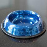 Food Bowl | Metallic Blue |Diameter 21cm