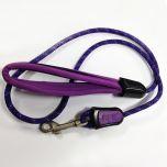 Dog Leash  Purple Neoprene Leash for Dogs  Braided Dog Leash