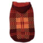 Dog Sweater Hoodie Bordeaux