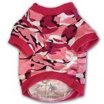 Dog T-Shirt Camo Pink Off-Road, DiivaDog
