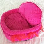 Dog Bed | Dog Supplies | Pink Princess Bed