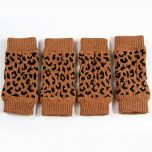 Dog's leggings | Brown Leopard | DiivaDog.com