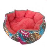 Dog Bed | Cat Bed | Coral Red, Classic Nature Bed | Pet Supplies