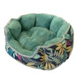 Dog Bed | Cat Bed | Green Classic Nature Bed | Dog Supplies | Cat Supplies | Bed for Dogs | Bed for Cats | 3 Sizes