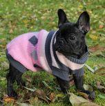 Dog Sweater |Pink & Black