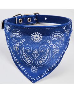 Bandana - Blue Collar, For dogs or cats