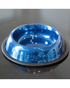 Food Bowl | Metallic Blue | Diameter 21cm