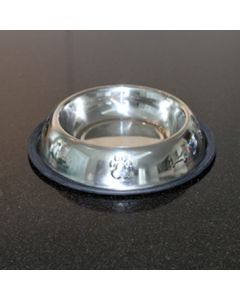 Dog Food Bowl | Bergan Silver | Stainless Steel
