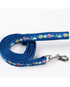 Color Paws blue leash for dogs and cats! DiivaDog