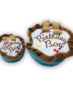 Dog Toy | Birthday Boy Cake