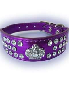 Dog Collar | Cat Collar | Fairytale Princess | Purple