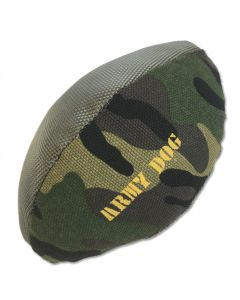 Dog Toy | Army Camo American Football | Stuffed Toy for Dogs | Squeaky Toy