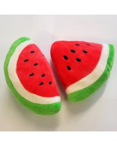 Stuffed Toys for Dogs | 2 Watermelon Slices