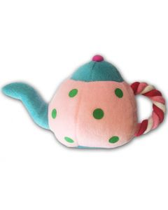 Dog Toy | Teapot | Rose | Squeaky Toy | Rope Toy