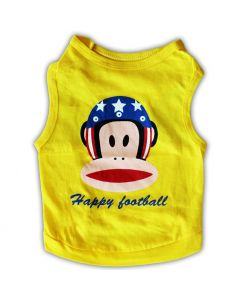 Dog Clothes | Happy Football Tank Top