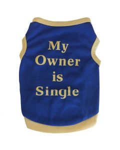 Dog Tank Top | My Owner is Single