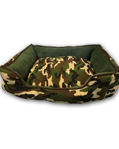 Dog Bed | Camo Green Off-Road for Your Puppy