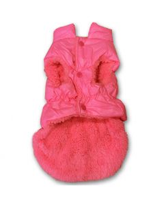 Dog Clothes | Dog Quilted Vest | Pink Choice Jacket