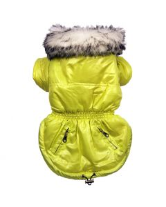 Dog Clothes | Dog Quilted Jacket | Fresh Lime Jacket