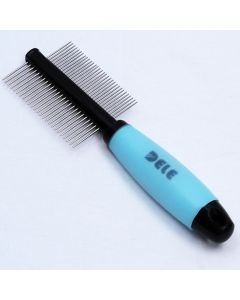 Dog Supplies | Stainless Steel Comb | 2-Sided Anti Tangle Comb