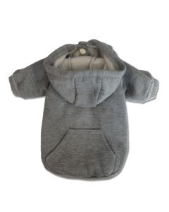 Dog Clothes | Dog Hoodie | Basic Hoodie Gray | Hoodie For Dogs