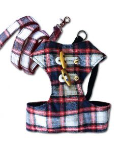 Dog Harness | MurrBerry Red & Blue | Harness for Dogs