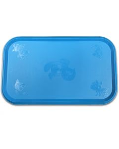 Rubber Blue Table Setting for Pets