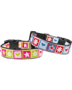 Dog Collar | Stars & Hearts