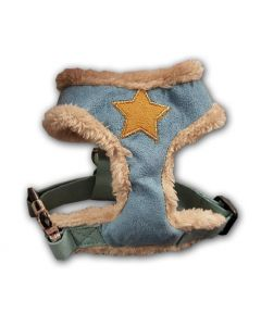 Dog Harness | Fur Star Harness Blue
