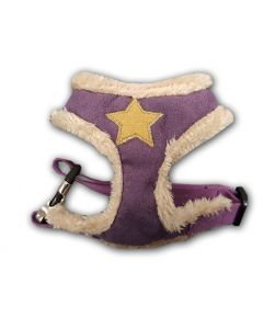 Dog Harness | Fur Star Harness Purple