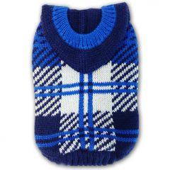 Dog Sweater Hoodie Aqua