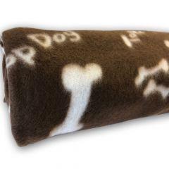 Dog Fleece | Nap Blanket | Fleeceviltti My Bones Brown