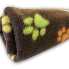 Dog Fleece | Nap Blanket | Cat Fleece | My Paws Brown