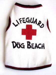 Dog Tank Top |Lifeguard