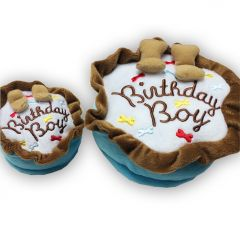 Dog Toy |Birthday Boy Cake