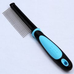 Dog Supplies | Stainless Steel Comb | Anti Tangle Comb for Dogs | Dog Grooming Supplies
