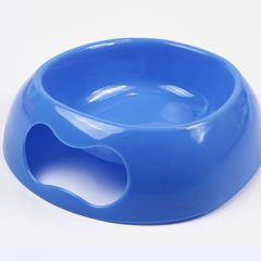 Koiran sininen ruokakuppi Blue Bone. Näppärän kokoinen, helposti pestävää muovia. Pinottava. Tilavuus n. 3 dl, DiivaDog