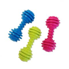 Dog Toy |Dog Dumbbell |Natural Rubber Toy |3 Colors