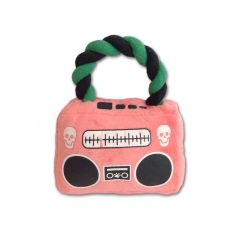 Dog Toy | Pink Pirate Radio | Squeaky Toy
