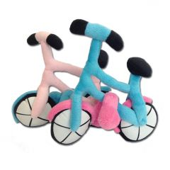Dog Toy | Bike | Squeaky Toy | Two Colors Pink and Blue