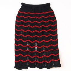 Dog Sweater   Murrsoni Black&Red   DiivaDog.com