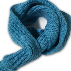 Koiran sininen kaulahuivi | Sininen neulehuivi lemmikille